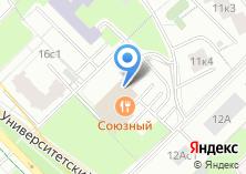 Компания «АКБ ИНТЕРПРОМБАНК» на карте