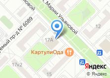 Компания «ВКР-мебель» на карте