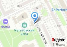 Компания «Храм-часовня Архангела Михаила близ Кутузовской избы» на карте