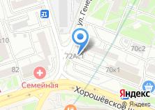 Компания «Сеть фирменных магазинов» на карте