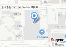 Компания «Азалия» на карте