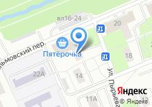 Компания «Лабиринт» на карте