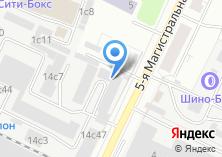 Компания «Дачники Подмосковья» на карте