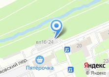 Компания «Сетунь-1» на карте