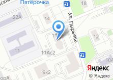 Компания «Уни-мед» на карте