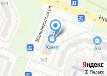 Компания «КЭМП-Домодедово» на карте