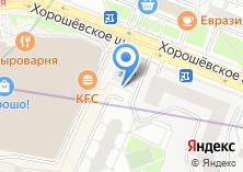 Компания «Магазин хлебобулочных изделий на Хорошёвском шоссе» на карте
