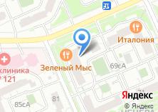 Компания «Техносити» на карте