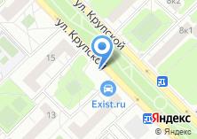 Компания «Магазин сухофруктов на ул. Крупской» на карте