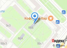 Компания «Москвич» на карте
