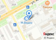 Компания «Родина» на карте