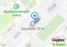 Компания «Прогимназия №1733» на карте