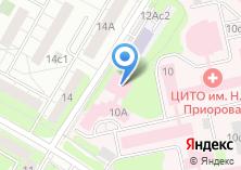 Компания «ЦИТО» на карте