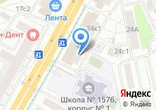 Компания «Орбита-Север» на карте