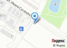 Компания «Магазин фастфудной продукции на ул. Ивана Сусанина» на карте