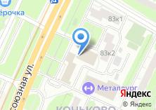 Компания «Корона-Центр» на карте