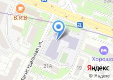 Компания «Окружная служба информационной поддержки Северного административного округа» на карте
