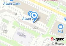 Компания «Жалюзи24» на карте