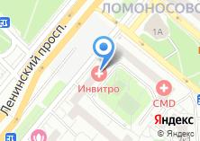 Компания «Банк РОСТ» на карте