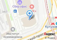Компания «Строящееся административное здание по ул. Кутузовский проспект» на карте