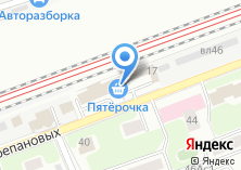 Компания «Автосервис на проезде Черепановых» на карте