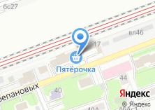 Компания «Золотая стрела» на карте