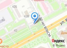 Компания «Медицинское оборудование» на карте