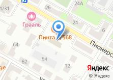 Компания «Вымпел-1» на карте