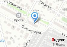 Компания «Строящийся жилой дом по ул. Шаталова (г. Подольск)» на карте