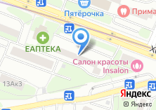 Компания «Секонд-хенд на Хорошевском шоссе» на карте
