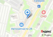 Компания «Позитив-Тур» на карте