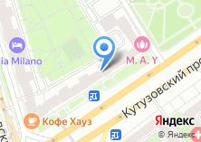Компания «Салон цветов на Кутузовском проспекте» на карте