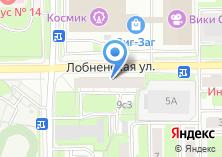 Компания «Московский учколлектор №3» на карте