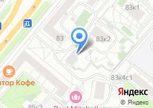 Компания «Строящееся административное здание по ул. Ленинский проспект» на карте