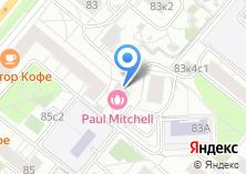 Компания «Paul Mitchell» на карте