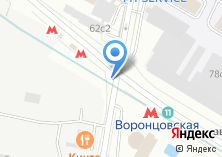 Компания «Магазин цветов на Старокалужском шоссе» на карте