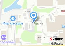 Компания «МегаТехЦентр» на карте
