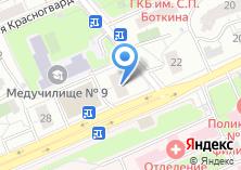 Компания «Магазин разливного пива на Шмитовском проезде» на карте
