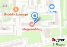 Компания «МединаМед» на карте