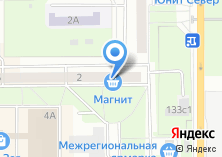 Компания «Форвард» на карте