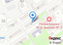 Компания «Мастерская по ремонту обуви и изготовлению ключей на Новомихалковском 3-ем проезде» на карте