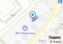 Компания «Инженерно-технический центр Министерства обороны РФ» на карте