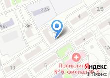 Компания «Школа боевых искусств Дмитрия Носова» на карте