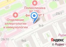 Компания «Детская городская клиническая больница №9 им. Г.Н. Сперанского» на карте