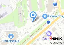 Компания «Кафе на Одоевском шоссе» на карте