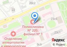 Компания «Городская поликлиника №42» на карте