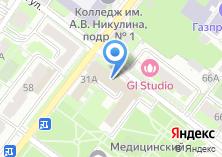 Компания «Интеллика» на карте