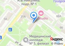 Компания «АВАНТИ» на карте