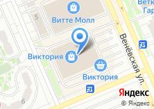 Компания «Бельвиль» на карте