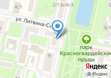 Компания «Краснопресненские пруды» на карте